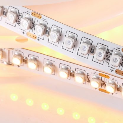 Tätbestyckad Gul LEDstripe